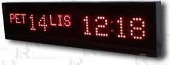 Picture of Jednostrani digitalni matrični sat EDMS1035