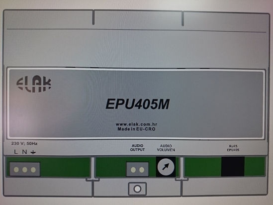 Picture of Pozivni uređaj ELAK EPU405