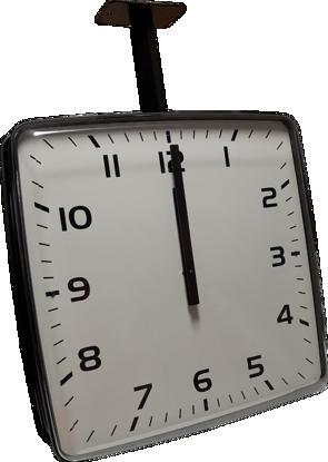 Picture of Dvostrani pravokutni analogni sat 40 cm ELAK EAC2040R